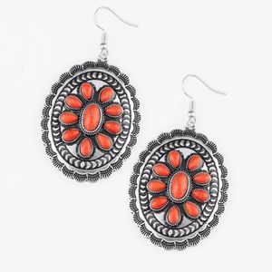 Free with Bundle Apothecary Orange Earrings